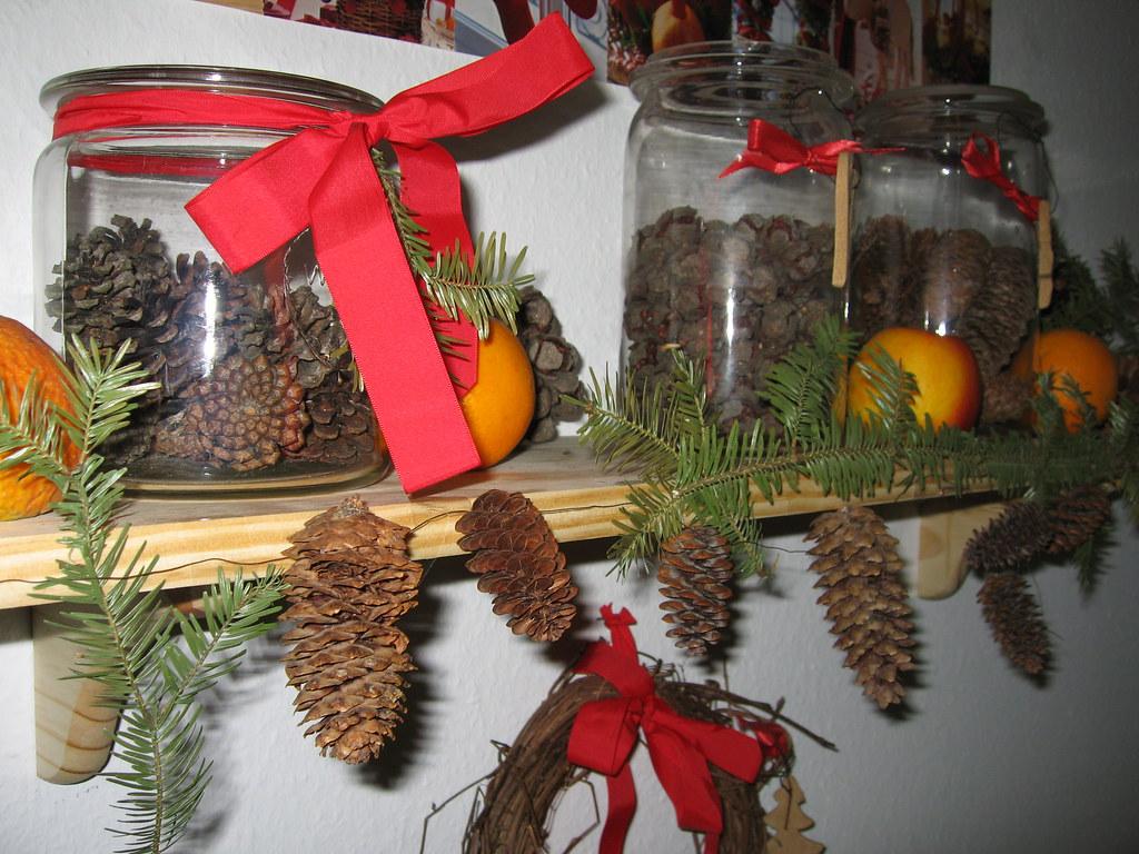 Weihnachtsdeko Material.Weihnachtsdeko Eva Tscheulin Flickr