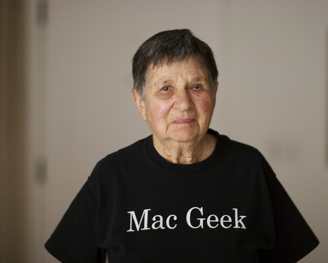 My mother's a Mac Geek