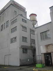 Tacoma Water Tower on building