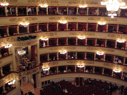 Teatro alla Scala seating - day 6