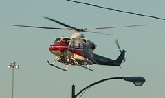 Helicopter in Richmond