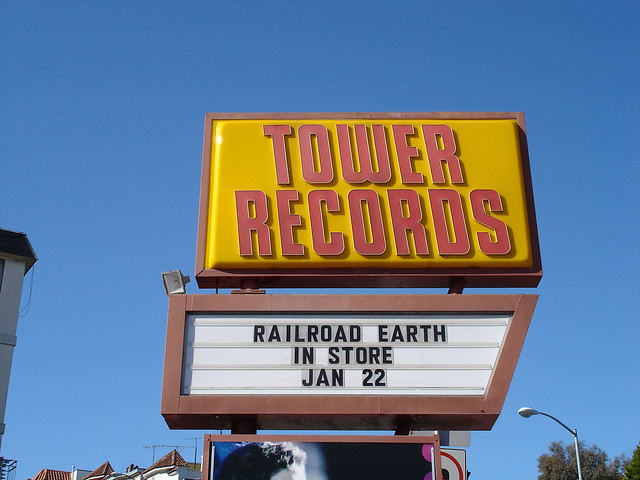 Railroad Earth at Tower Records