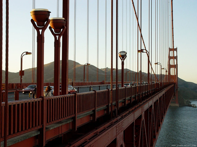 Walking Across the Golden Gate