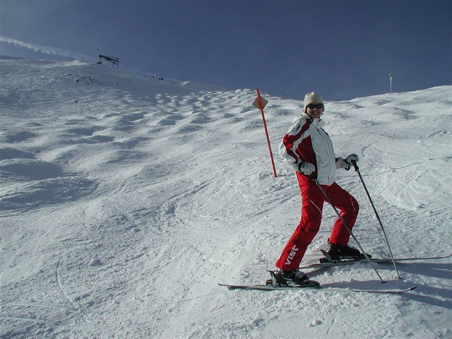 skiing by nonanet, on Flickr