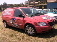 automobile, automotive exterior, vehicle, minivan, dodge caravan, land vehicle,