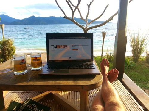 How Tom worked for a week on Gili Air