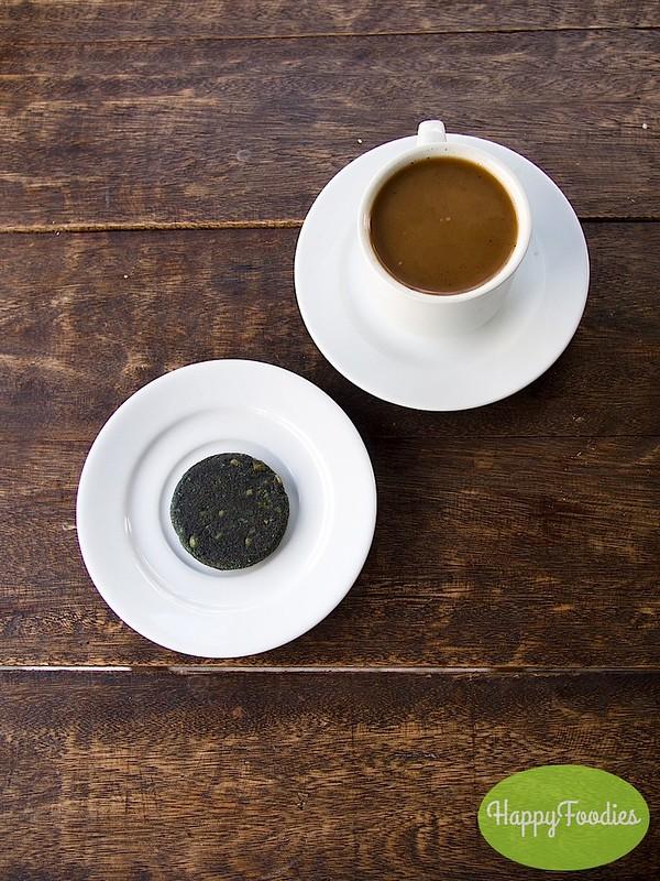 Kalinga Coffee (P50) and Hemp cookie (P65)