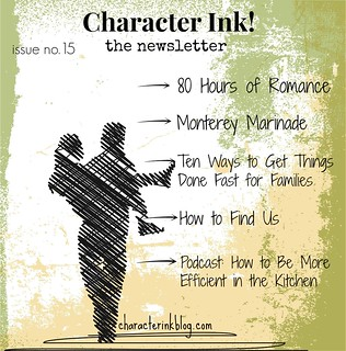 Character Ink Newsletter no. 15
