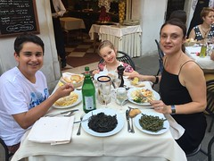 Another fine meal in Venice