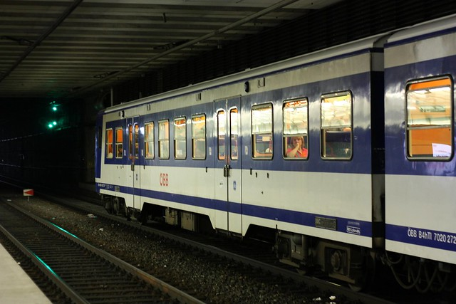 [199/365] Wien Hauptbahnhof Gleis 1 & 2 | Wien Hauptbahnhof  S-Bahn