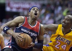 Paul Pierce, Kobe Bryant