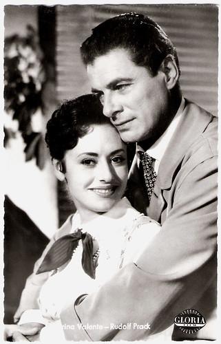 Caterina Valente and Rudolf Prack in Das einfache Mädchen (1957)