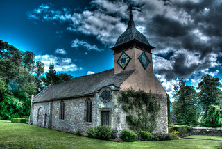 Croft castle Church