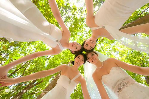 高雄KISS九九麗緻婚紗~跟閨蜜一起拍婚紗!紀念我們逝去的青春… (4)