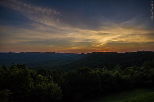 sunset georgia landscape amicalolastateparklodge