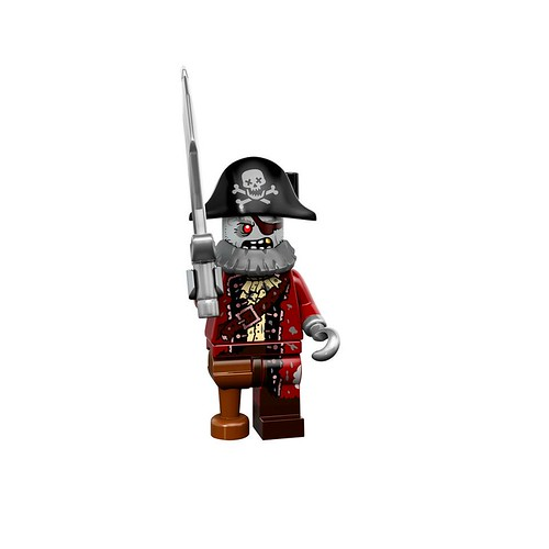 Minifigures serie 14 - Zombie Pirate