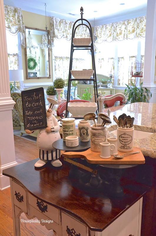 Vintage Scale/Vintage Marmalade Jars-Housepitality Designs