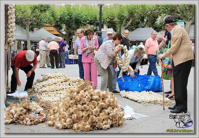 1 Feria de los ajos en Briviesca