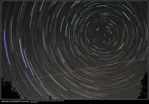 Startrails-ISS_20150805