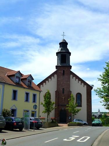 Weiskirchen-Konfeld – kath. Kirche St. Johannes der Täufer