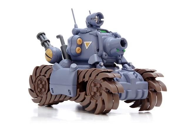 熱烈好評新色登場!WAVE《越南大戰》Metal Slug 戰車 1/24 組裝模型 WAVE 1/24 SV-001/I メタルスラッグ プラモデル