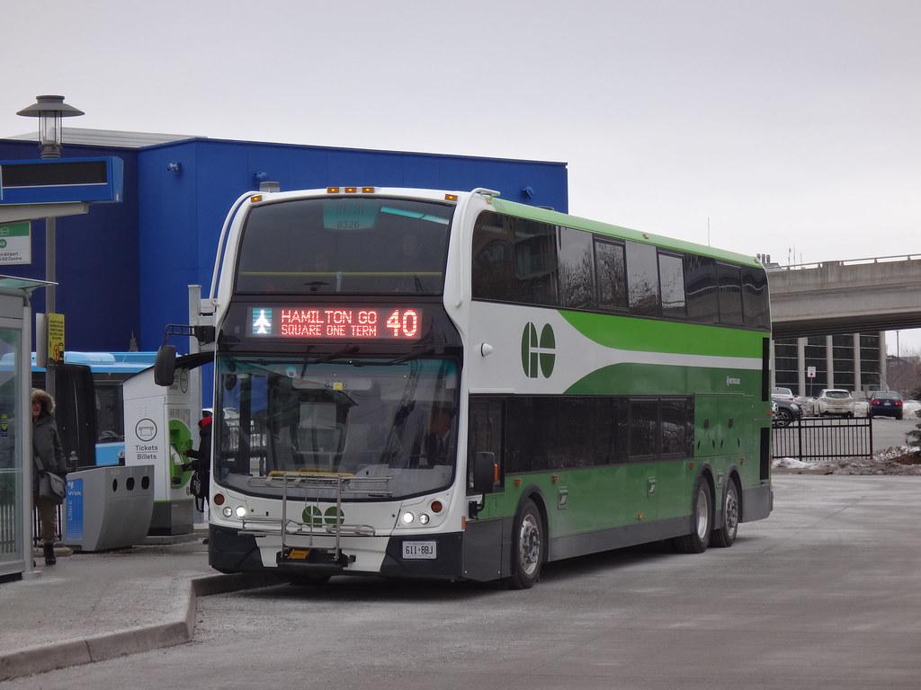 GO Transit Alexander Dennis Enviro500 SuperLo 8326