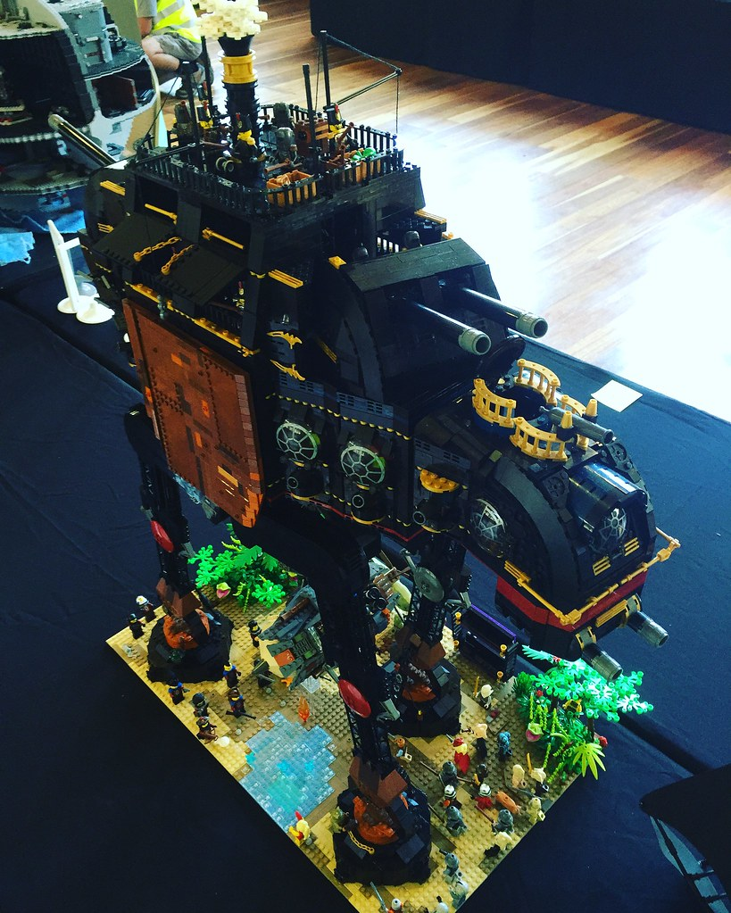 My Brickvention 2017 Steampunk ATAT