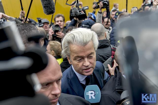 Kick off election campaign PVV in Spijkenisse: an impression