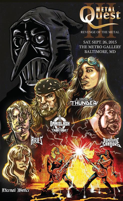 Metal Quest III at Metro Gallery