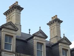 Dyffryn House - Dyffryn Gardens - chimneys