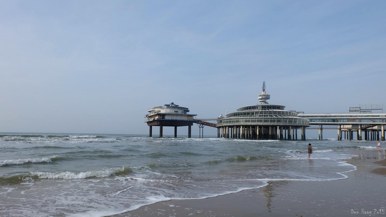De Pier, North Sea, Den Haag, Nederland
