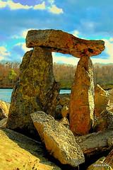 1-Kairn, pi symbol, Sunfish Pond, NJ