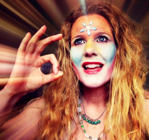 World Naked Bike Ride Magic Goddess KRING