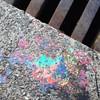 Pride remnant. #latergram #colors #paint #lookingdown #SanFran #travel