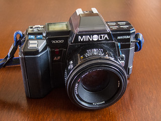 Minolta Maxxum 7000 | by Jim Grey
