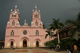 Basilica of Our Lord of Miracles.  Buga, Colombia.