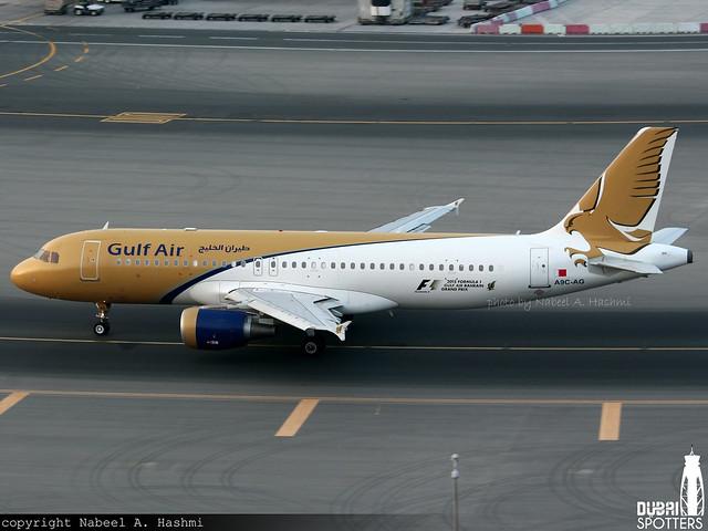 Gulf Air | Airbus A320-200 | A9C-AG | DXB