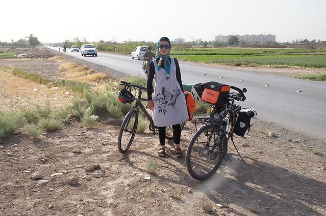 Erste Radtour mit Marjan