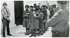 Bowie students await arrest in state house building: 1968