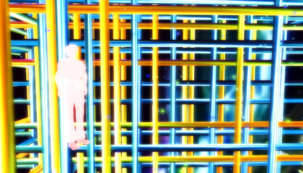 Net of tubes