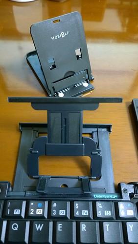 折り畳み式スマホスタンド SST-08/BK