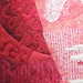 Detail from Romancing Red by Michelle Jackson