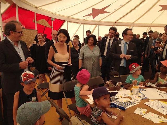 Inauguration de Lire en short, manifestation jeunesse