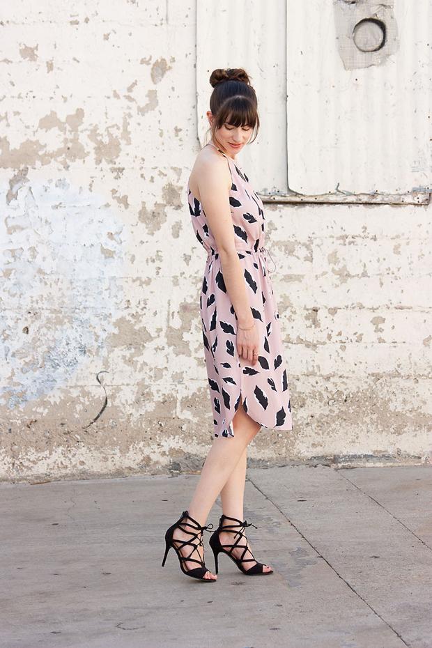 Loft Midi Dress, Lace Up Heels, Rocksbox, Gorjana