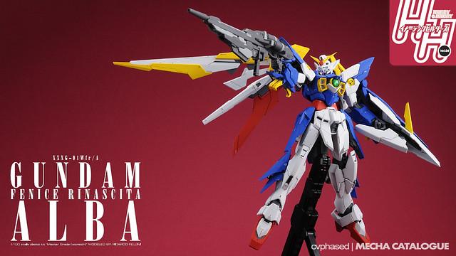 Bandai Hobby Online Shop Exclusive - MG Gundam Fenice Rinascita Alba