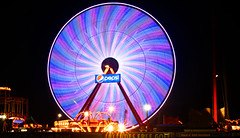 Giant Ferris Wheel at Ocean City, Maryland