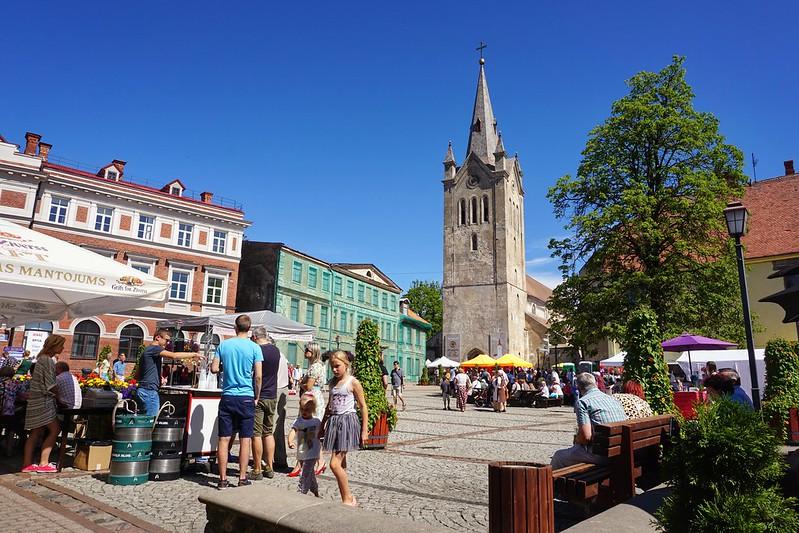 Rozu Square at Cesis festival