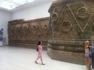 Fachada de un palacio Islámico, museo de Pérgamo