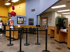 Pharmacy consultation and waiting area