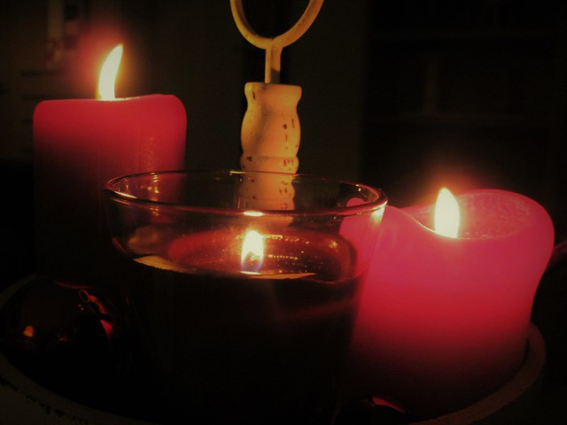 Candles, Canon POWERSHOT A1100 IS